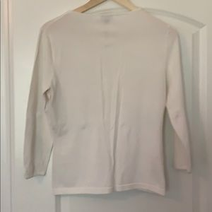 Ann Taylor Sweaters - Beautiful white button up cardigan size M